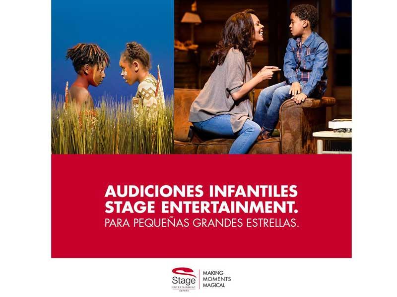 """Audición STAGE: Chicos y chicas 8-11 años para """"EL REY LEÓN"""""""