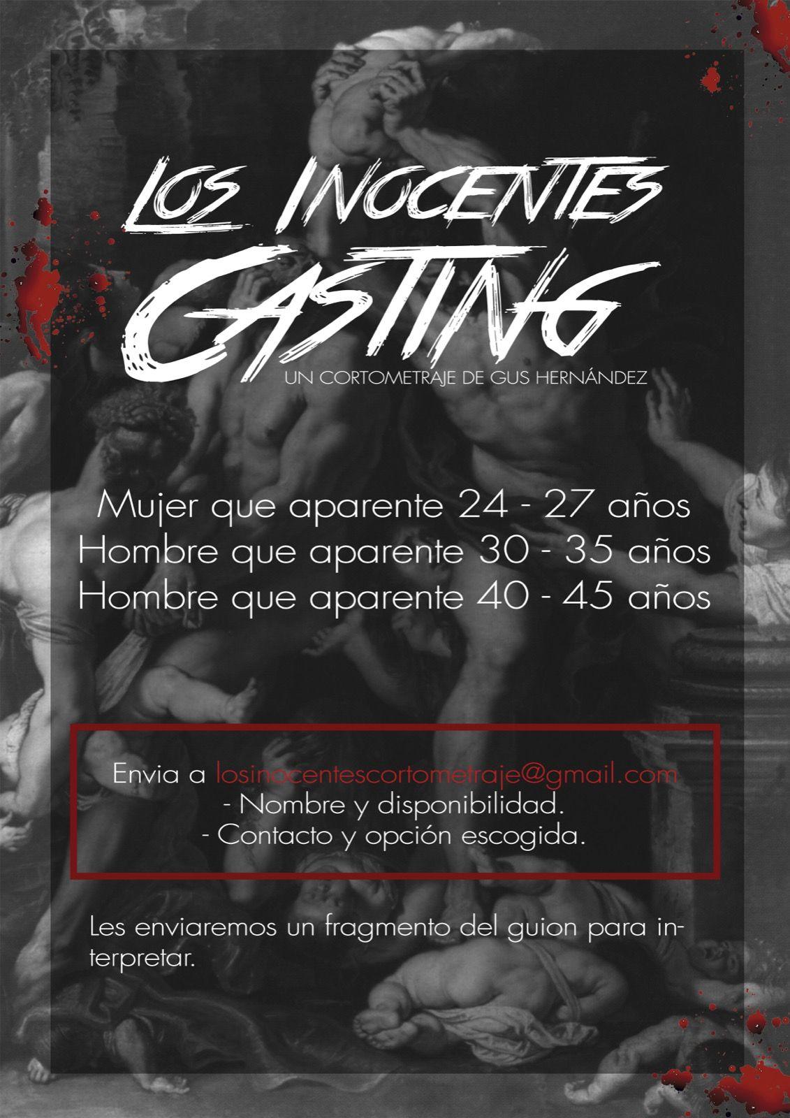LOS INOCENTES- Cortometraje fin de Máster