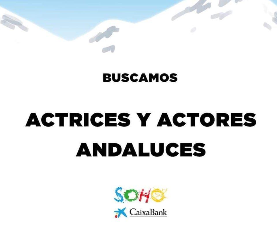 Actores y actrices andaluces de 30 a 50 años para Teatro Soho en Málaga