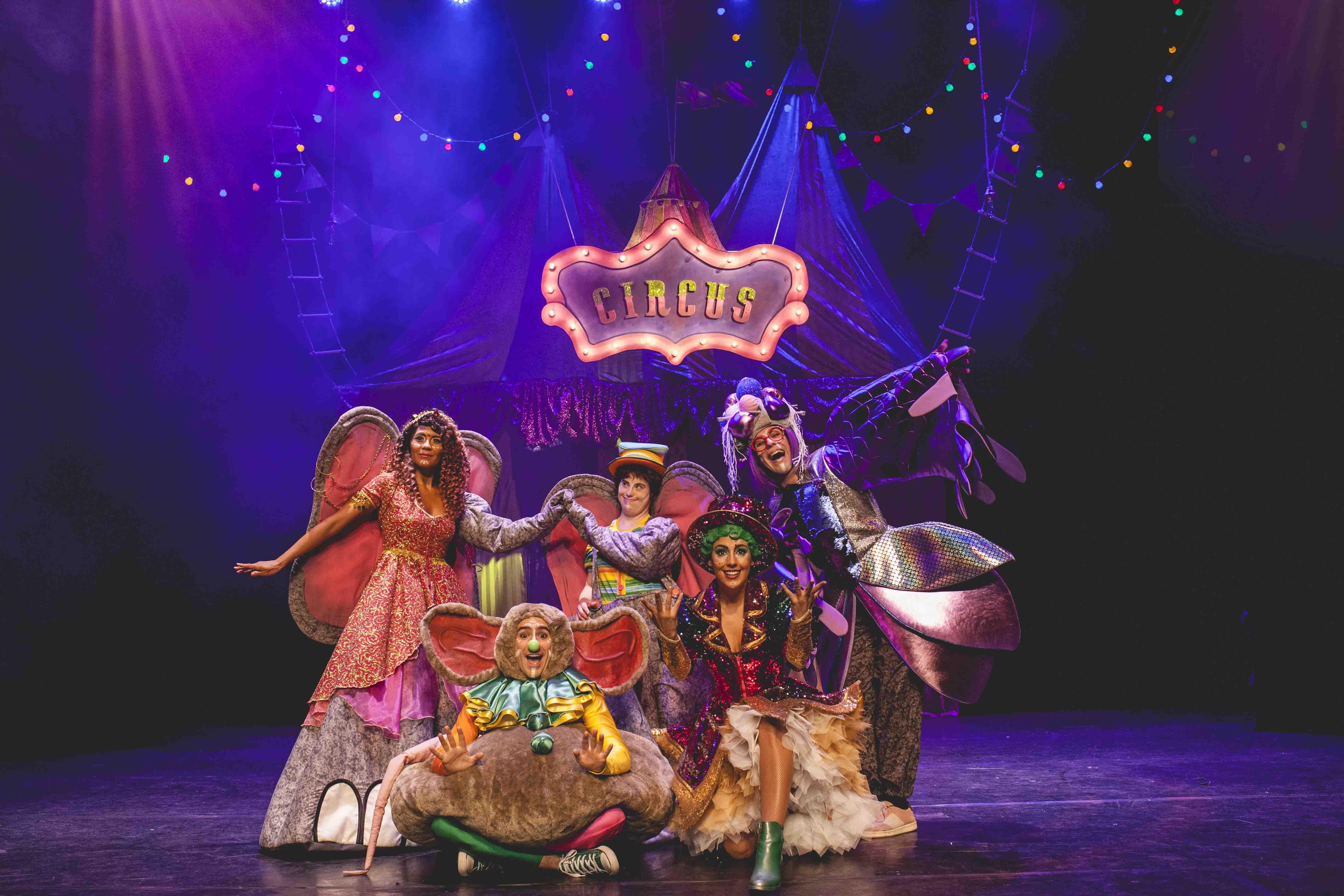 Actores-Cantantes (TENORES) de 20 a 30 años para TEATRO MUSICAL FAMILIAR «Dumbo El Musical» en Madrid