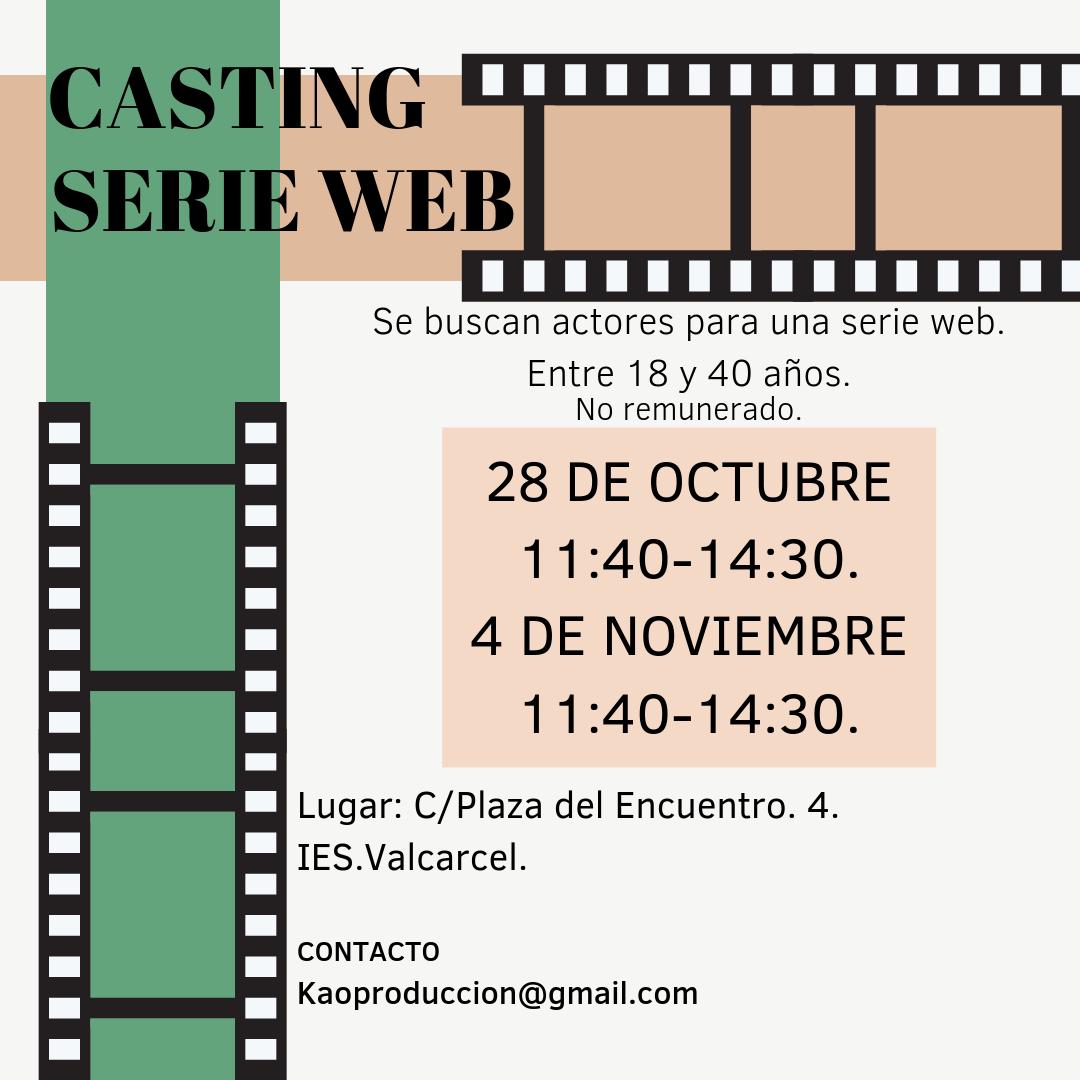 Actores/actrices de 18 a 40 años para Webserie «MUCHA MIERDA» en Madrid