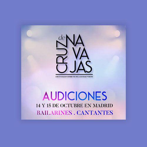 Cantantes y bailarines/as para Musical «Cruz de Navajas» en Madrid