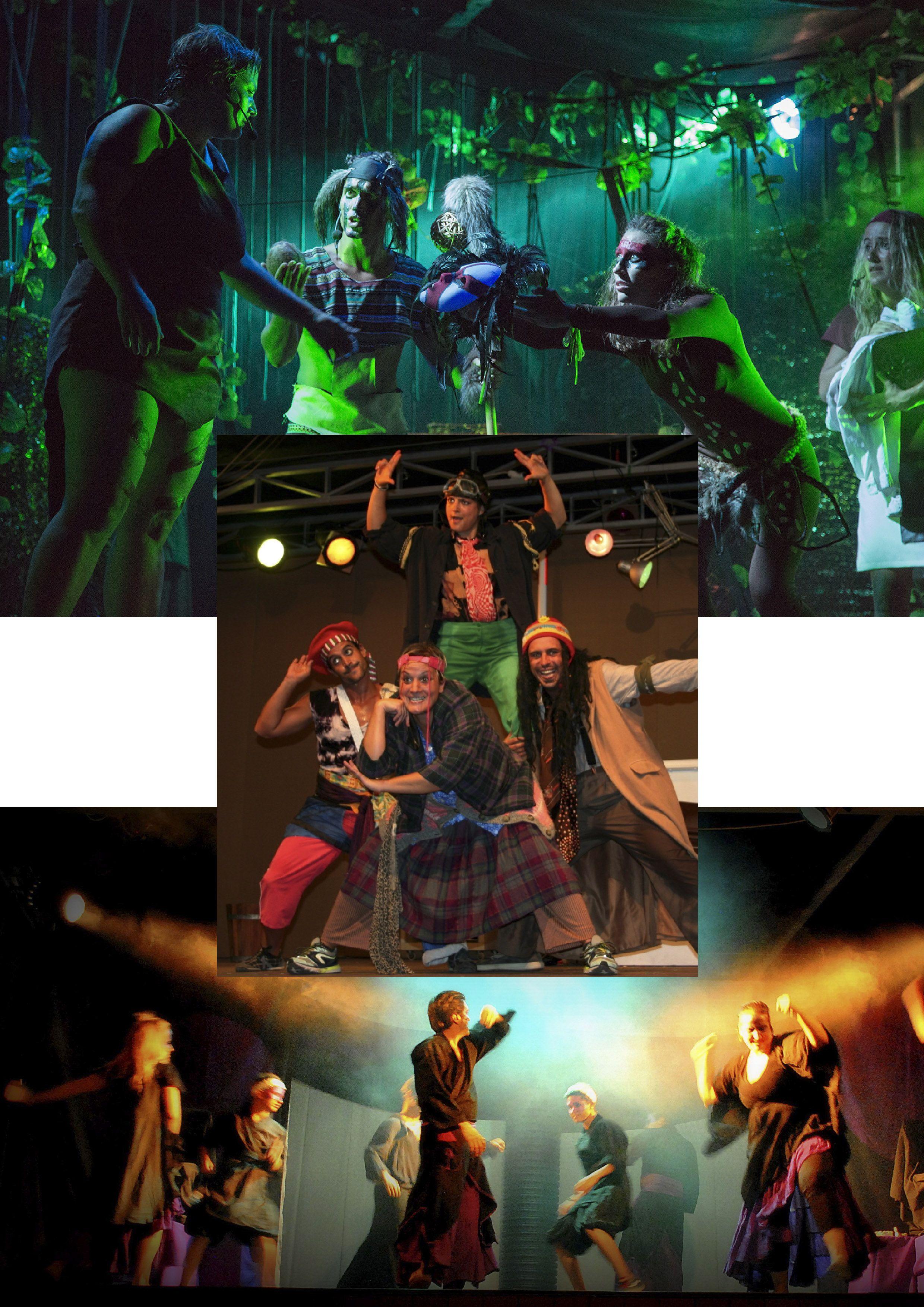 Actriz física Bailarina  acróbata #teatrofísico 21 a 30 años / #Trabajoremunerado / #Verano en BCN