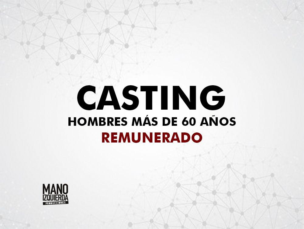 ¡Urgente! Actores de 60 a 70 años – Remunerado- para rodaje en Madrid