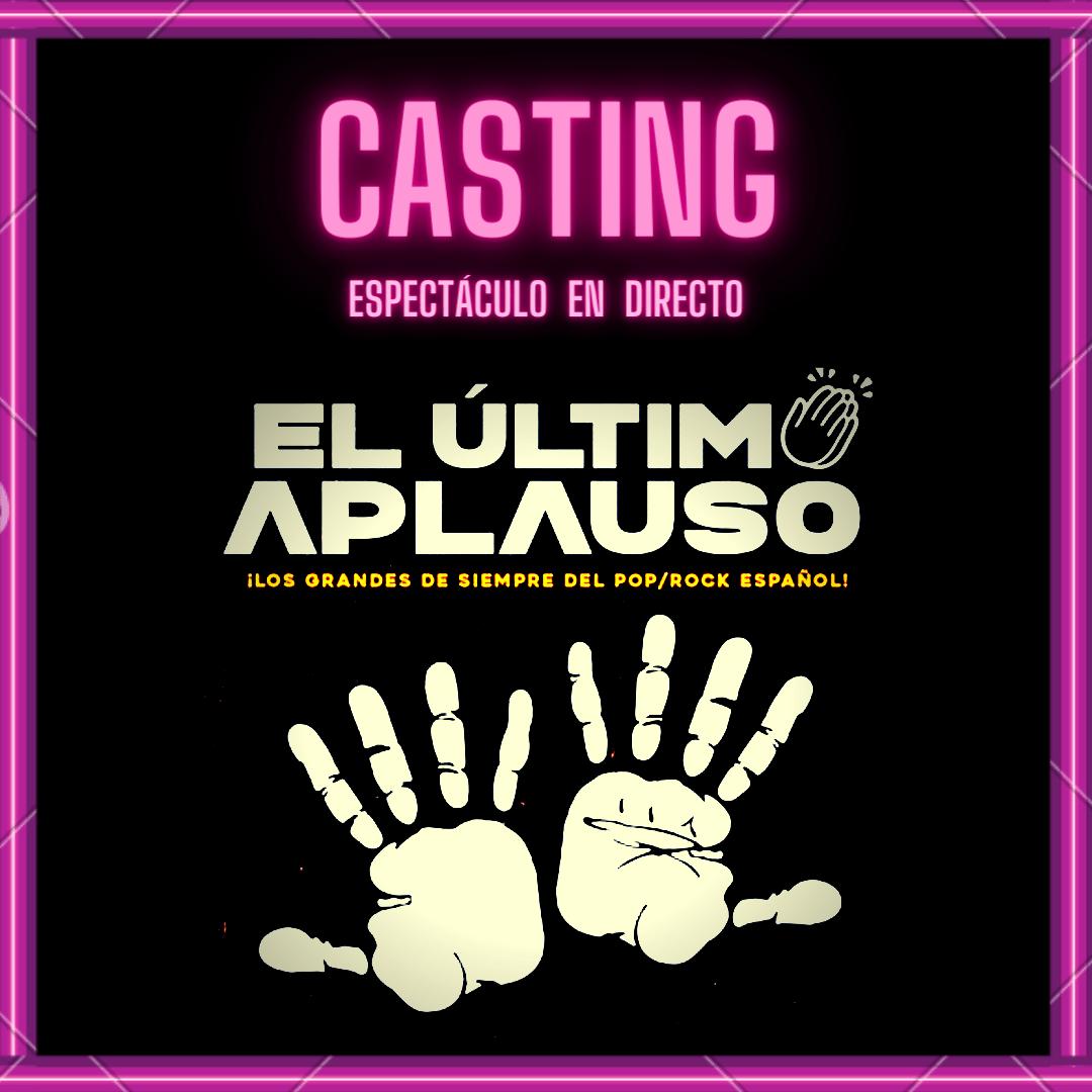 Animadores/as y bailarines/as para «El Último Aplauso» en Madrid