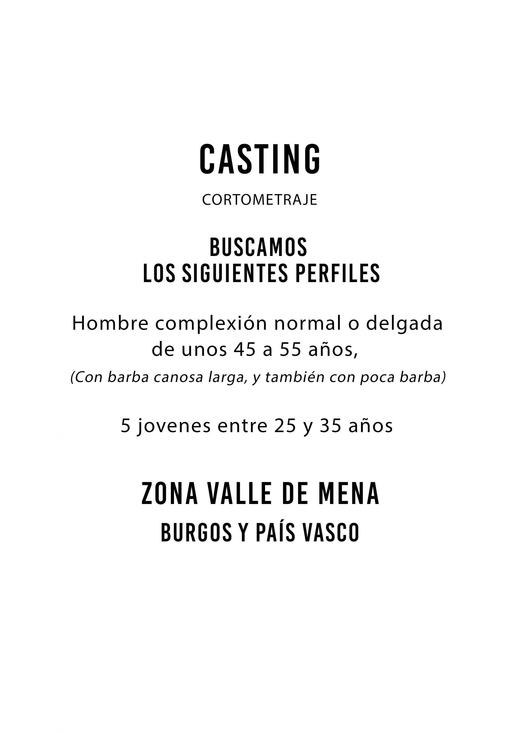 Actores de 25 a 55 años para Cortometraje «Landscaper» en Burgos