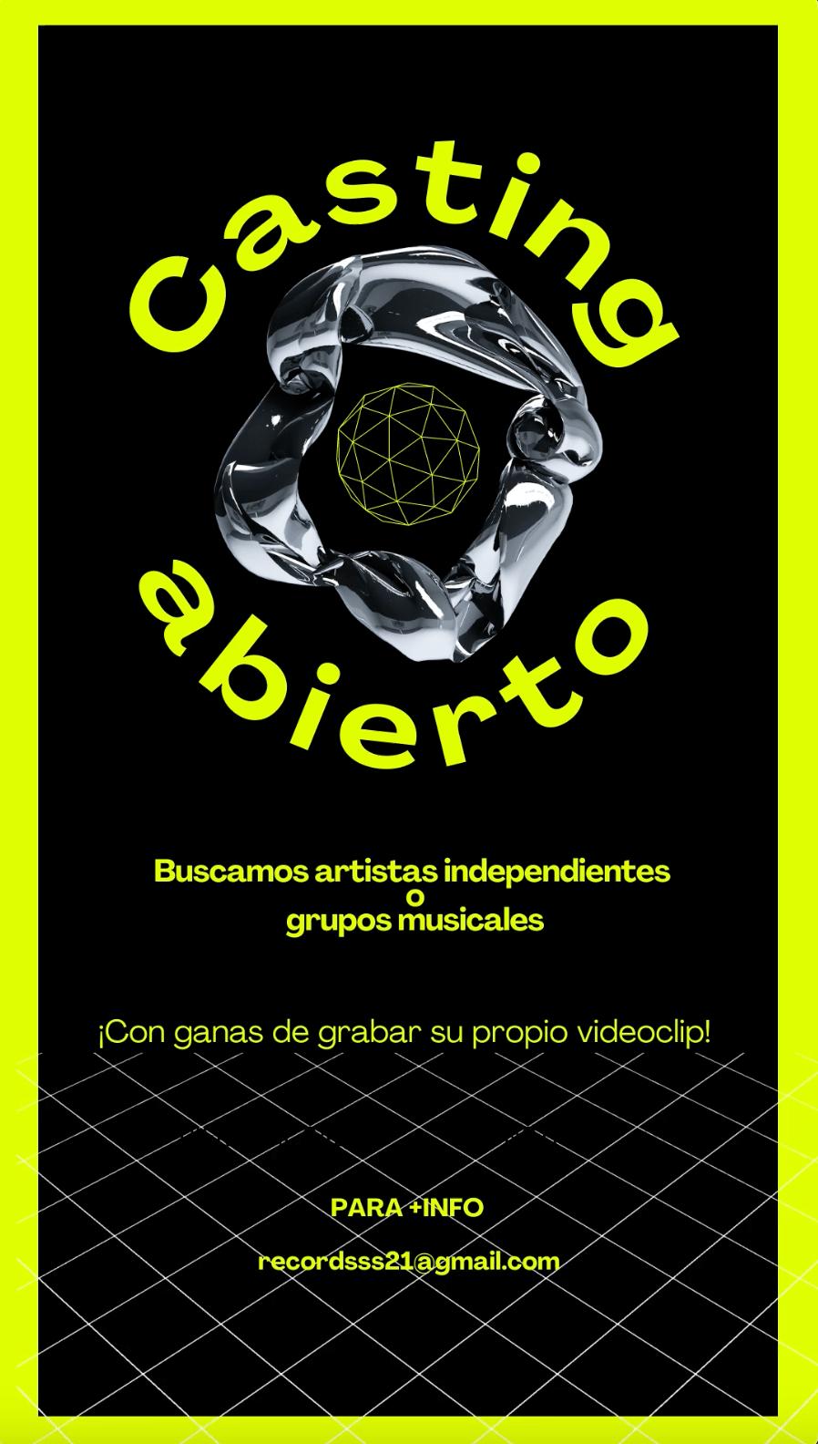 Artistas indep o grupos musicales para HACER UN VIDEOCLIP en Madrid